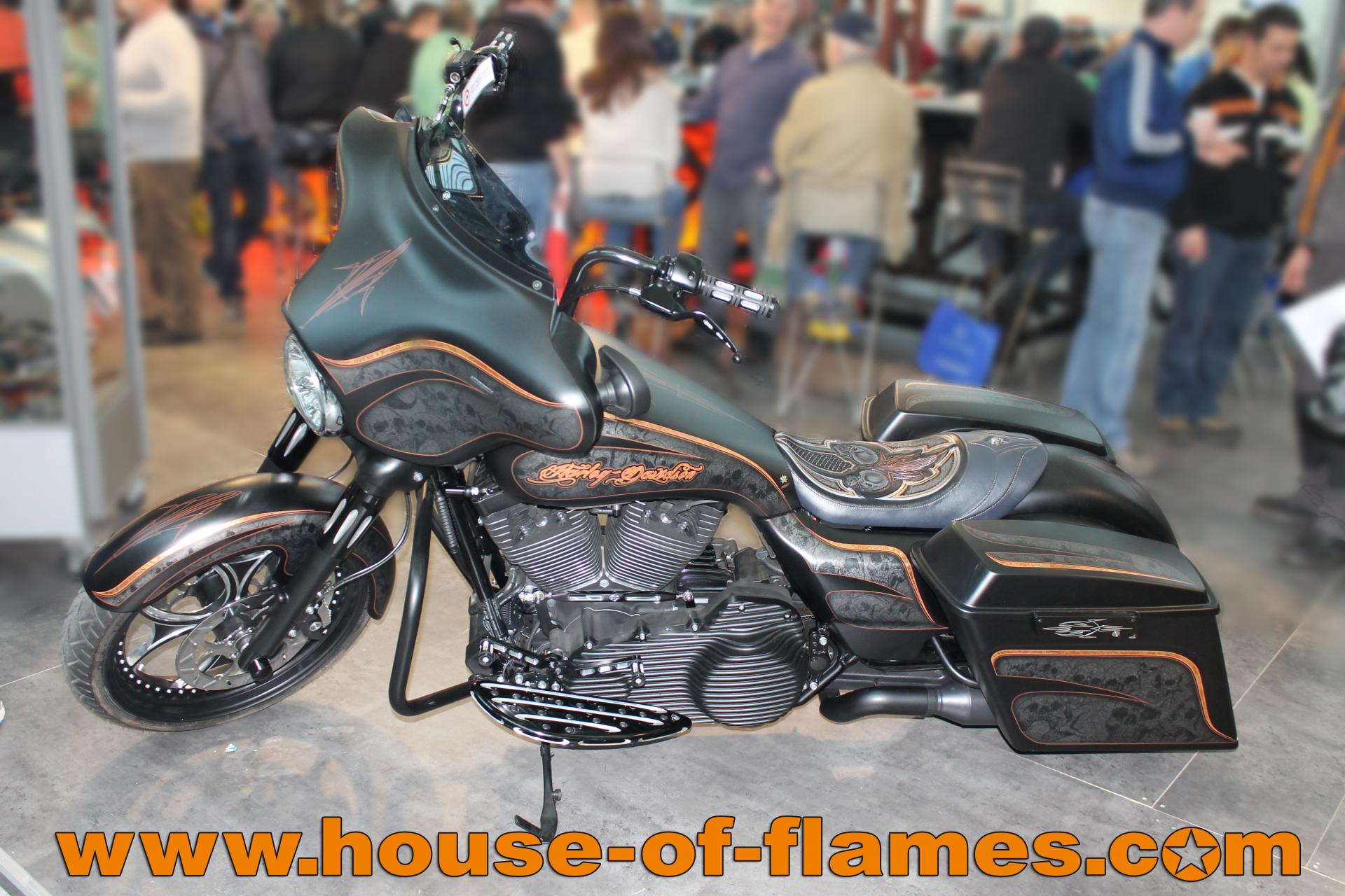 Harley Davidson House of Flames auf den Oldtimertagen Fürstenfeld
