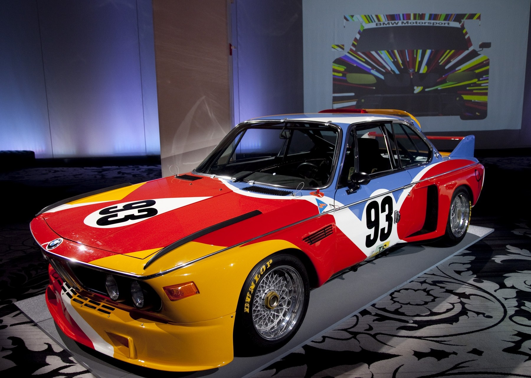 BMW Art Car #1 von Alexander Calder