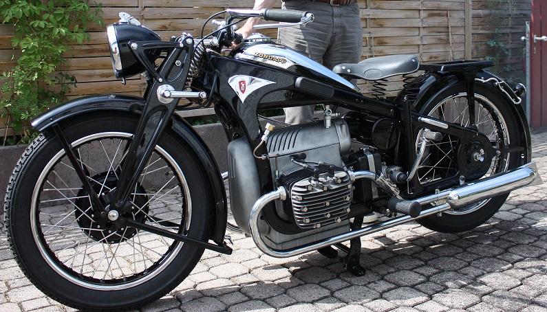 Zündapp K800, 1933, Kurt Seitz (D)