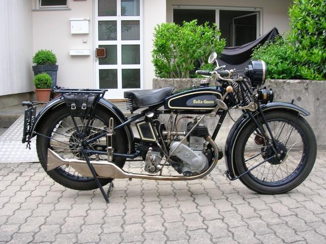Engler,Wolmerstorfer &CO - Delta Gnom 350, Bj. 1929, Manfred Eiler (A)