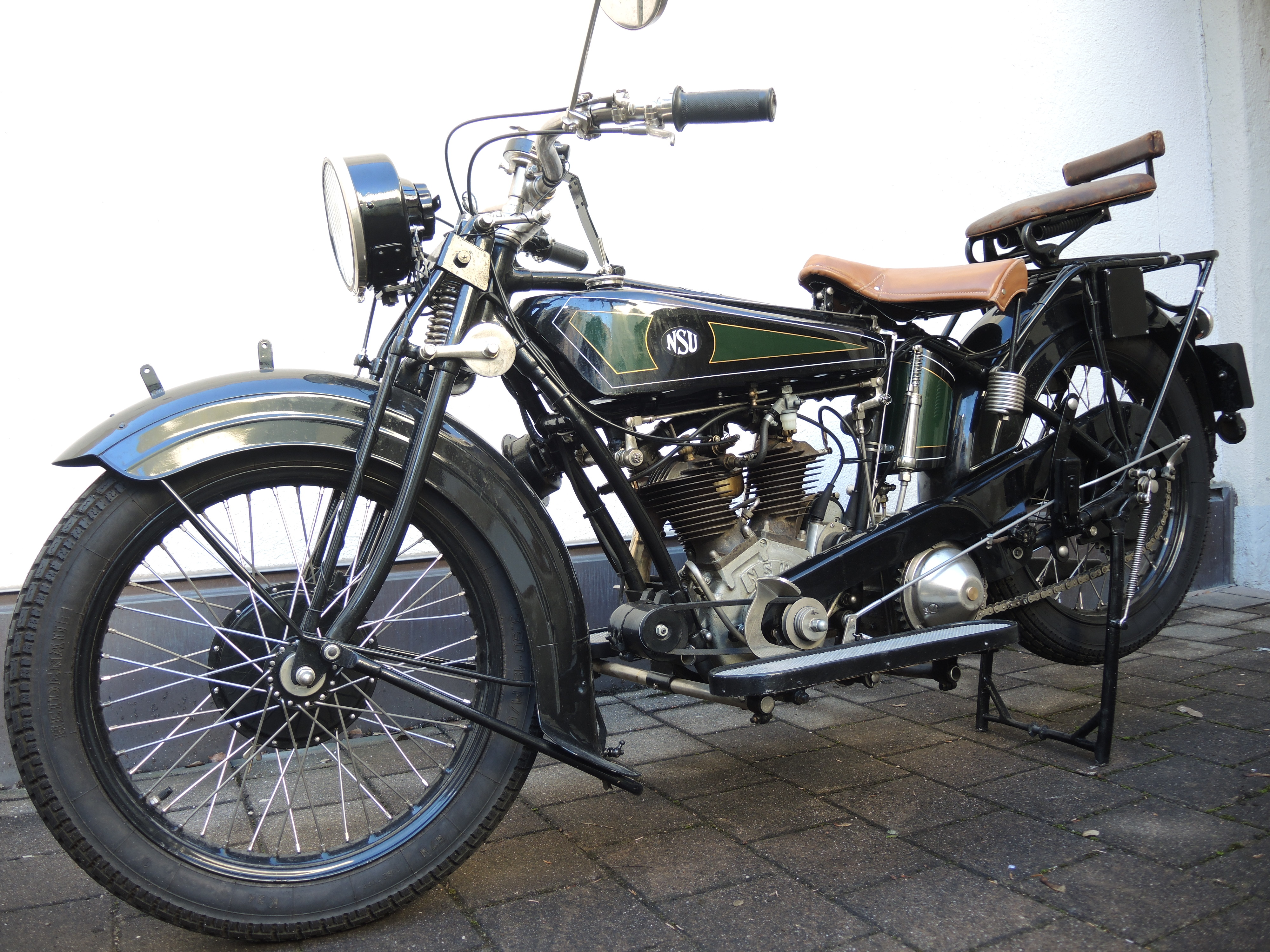 NSU 502S, 1927, Reinhard Gipp (D)