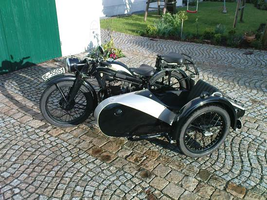 Zündapp DBK200,1937, Roland Hirscheck (D)