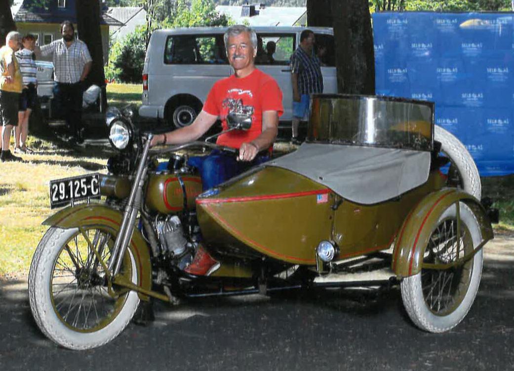 Harley-Davidson J, BJ 1926, Dr. Pavel Sefr (D)
