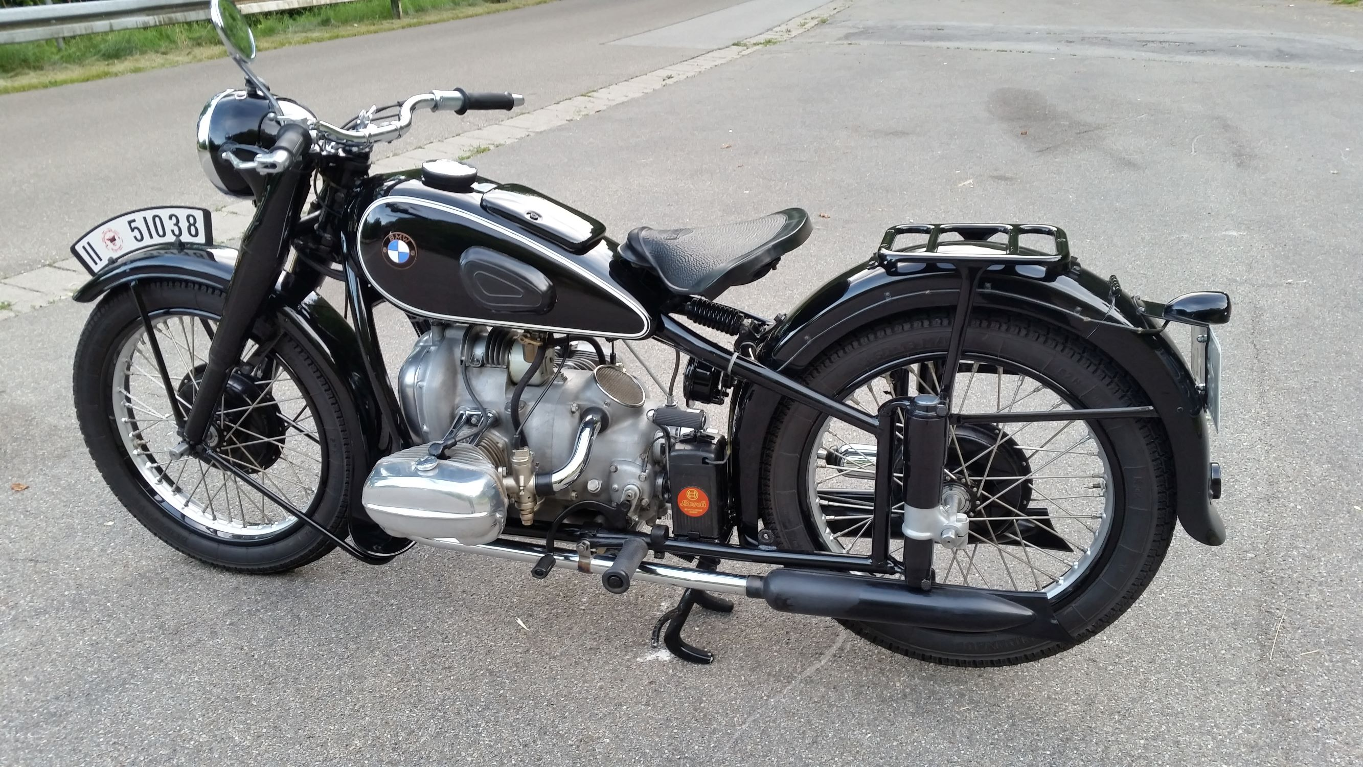 BMW R51, BJ 1938, Frank Thomas (D)