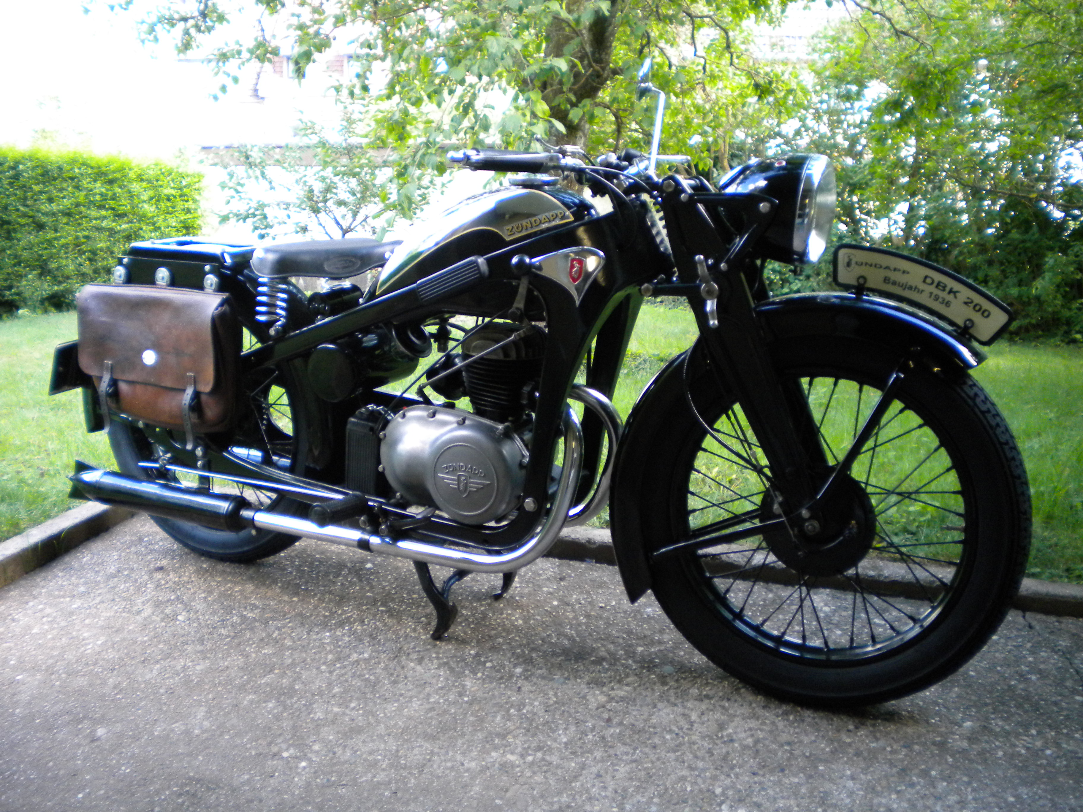 Zündapp DBK 200, 1936, Frank Schäfer (D)